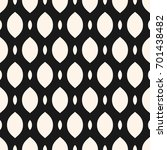vector seamless pattern  smooth ... | Shutterstock .eps vector #701438482