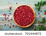 Ripe Fresh Cowberry ...