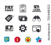 cash and coin icons. cash...