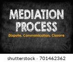 mediation process concept.... | Shutterstock . vector #701462362