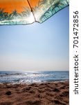 sea surf on a sunny day | Shutterstock . vector #701472856