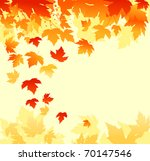 autumn colorful leaves... | Shutterstock .eps vector #70147546
