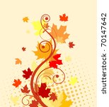 Autumn Colorful Leaves...