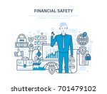 finance security and payment... | Shutterstock .eps vector #701479102