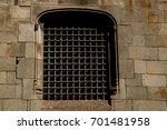palau reial major  grand royal... | Shutterstock . vector #701481958