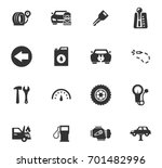 auto icons set and symbols for... | Shutterstock .eps vector #701482996
