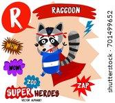 super big set. cute vector zoo... | Shutterstock .eps vector #701499652