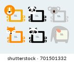 vector frames for photos in the ... | Shutterstock .eps vector #701501332