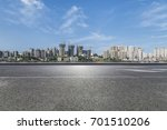 panoramic skyline and buildings ...   Shutterstock . vector #701510206