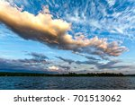 dramatic sky with clouds... | Shutterstock . vector #701513062