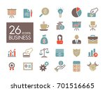 business and finance web... | Shutterstock .eps vector #701516665
