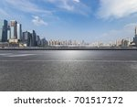 panoramic skyline and buildings ... | Shutterstock . vector #701517172