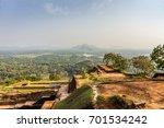 scenic view from sigiriya lion... | Shutterstock . vector #701534242