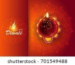happy diwali illustration ...   Shutterstock .eps vector #701549488