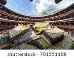 fujian tulou  hakka roundhouse ... | Shutterstock . vector #701551108