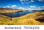 Scenic Summer Panorama Of The...
