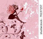 Fairy Pattern Grunge