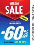 template super sale poster...   Shutterstock .eps vector #701573452