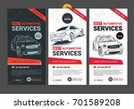 a set of web automotive... | Shutterstock .eps vector #701589208