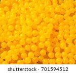 yellow balls texture | Shutterstock . vector #701594512