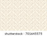 seamless ornament on background.... | Shutterstock .eps vector #701645575