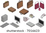 isometric illustration of... | Shutterstock .eps vector #7016623