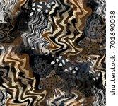 seamless pattern african design....   Shutterstock . vector #701690038