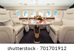 luxury interior in bright... | Shutterstock . vector #701701912