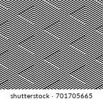vector seamless pattern. modern ... | Shutterstock .eps vector #701705665