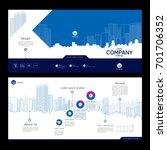 brochure template design.... | Shutterstock .eps vector #701706352