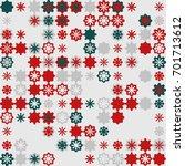 geometric pattern design  | Shutterstock .eps vector #701713612