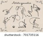 vector illustration. rhythmic... | Shutterstock .eps vector #701735116