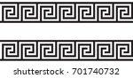 seamless greek ornament | Shutterstock .eps vector #701740732