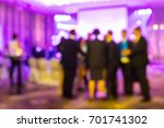 abstract blur people in night... | Shutterstock . vector #701741302