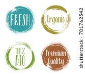 Vector Organic Labels  Bio...
