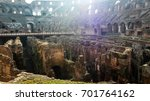 The Ruins Of The Roman Coliseum ...