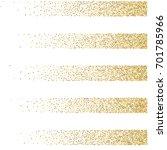 gold glitter borders vector... | Shutterstock .eps vector #701785966