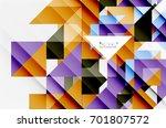 triangle pattern design... | Shutterstock . vector #701807572
