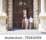 turin  italy   circa july 2017  ... | Shutterstock . vector #701816356