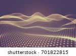 abstract polygonal space low... | Shutterstock . vector #701822815