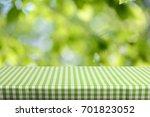empty table background | Shutterstock . vector #701823052