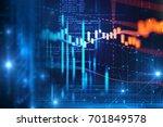 digital code number abstract... | Shutterstock . vector #701849578