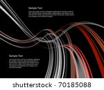 dynamic interplay of lines on... | Shutterstock . vector #70185088