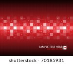 Red Abstract Background With...