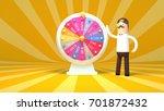 3d rendering picture of fortune ... | Shutterstock . vector #701872432
