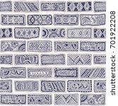 vector abstract seamless... | Shutterstock .eps vector #701922208