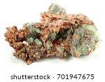 native copper from michigan | Shutterstock . vector #701947675