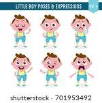 character design set of a cute... | Shutterstock .eps vector #701953492