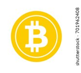 bitcoin flat icon. crypto...