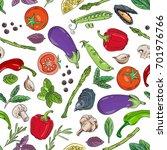 kitchen  cooking vector  ... | Shutterstock .eps vector #701976766